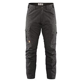 Fjällräven Karl Pro Winter wandelbroek heren dark grey