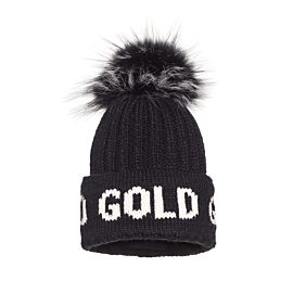 Goldbergh Hodd muts dames black