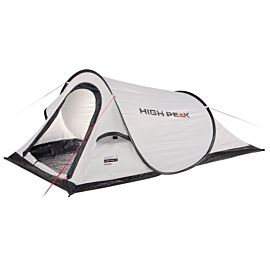High Peak Campo pop up tent pearl