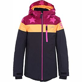 Icepeak Lane winterjas junior burgundy