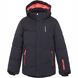 Icepeak Linton winterjas junior black melange
