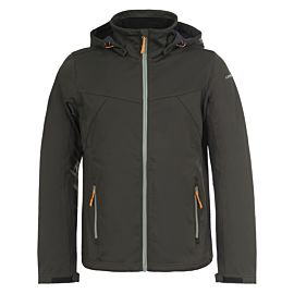 Icepeak Lukas softshell jas heren dark green