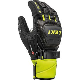 Leki Worldcup Race Coach Flex S GTX handschoenen heren black ice lemon