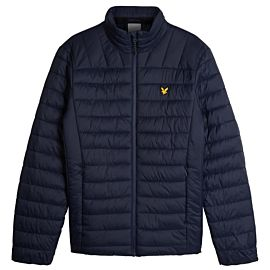 Lyle & Scott Lightweight Wadded winterjas heren navy