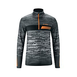 Maier Sports Tolmin skipully heren black oran print