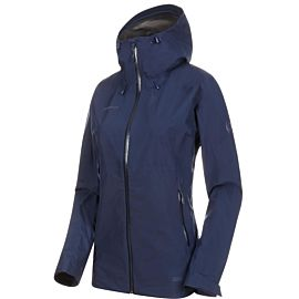 Mammut Convey Tour HS Hooded outdoor jack dames peacoat