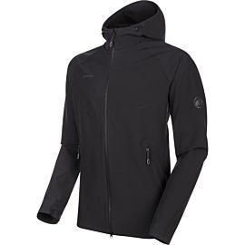 Mammut Macun softshell jas heren black