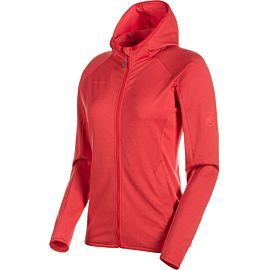 Mammut Nair ML Hooded vest dames ruby melange