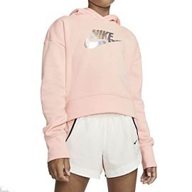 Nike Sportswear Crop Sweater junior bleached coral