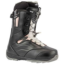 Nitro Crown TLS snowboardschoenen dames black rose