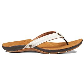 Reef Miss J-Bay slippers dames tan white