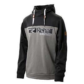 Rehall Brave-R Hooded sweater heren grey melange