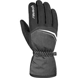 Reusch Snow King handschoenen heren black melange