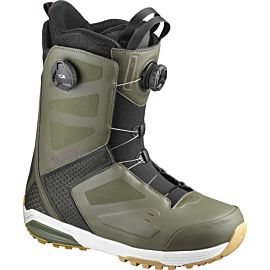 Salomon Dialogue Focus BOA snowboarschoenen heren olive fig black