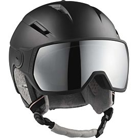 Salomon Icon 2 Visor skihelm dames black