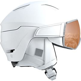 Salomon Mirage S skihelm dames white