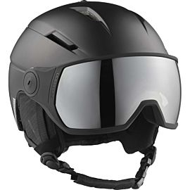 Salomon Pioneer Visor skihelm black