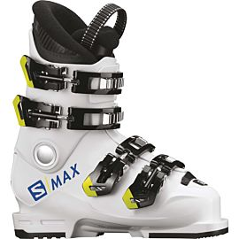 Salomon S Max 60T L skischoenen junior white acid green