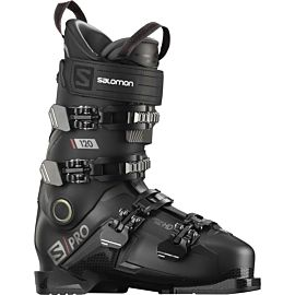 Salomon S Pro 120 skischoenen heren black belluga red