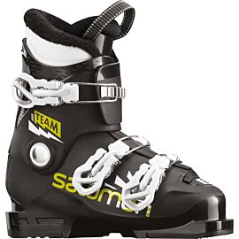 Salomon Team T3 skischoenen junior black acid green white