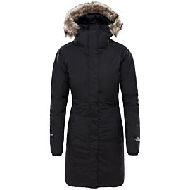 The North Face Arctic II parka outdoor jack dames tnf black