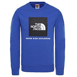 The North Face Box Drew Peak sweater junior tnf blue