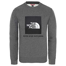 The North Face Box Drew Peak sweater junior tnf medium grey heather