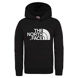 The North Face Drew Peak hoodie junior tnf black