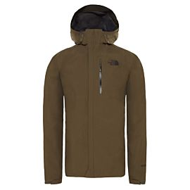 The North Face Dryzzle outdoor jack heren new taupe green