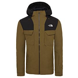 The North Face Fourbarrel Zip-In Triclimate 3-in-1 winterjas heren military olive tnf black