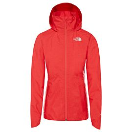 The North Face Inlux Dryvent outdoor jack dames juicy red white