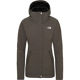 The North Face Inlux Insulated outdoor jack dames taupe green