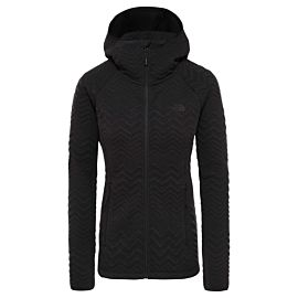 The North Face Inlux Tech softshell jas dames tnf black heather