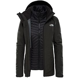 The North Face Inlux Zip-in Triclimate outdoor jack dames black heath