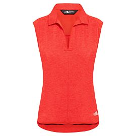The North Face Inlux outdoor shirt dames juicy red dark heather