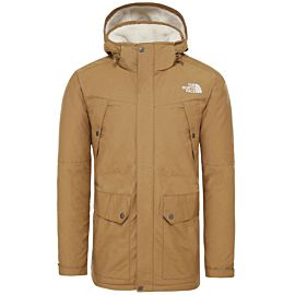 The North Face Katavi parka outdoor jack heren british khaki
