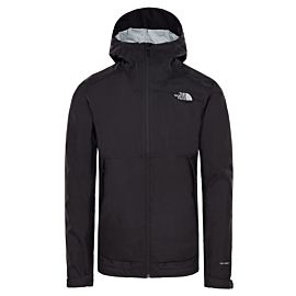 The North Face Millerton outdoor jack heren tnf black high rise gray campfire print