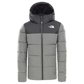 The North Face Moondoggy 2.0 outdoor jack junior tnf medium grey heather