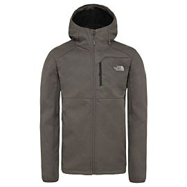 The North Face Quest softshell jas heren new taupe green dark heather