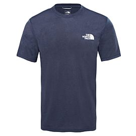 The North Face Reaxion AMP Crew T-shirt heren urban navy heather