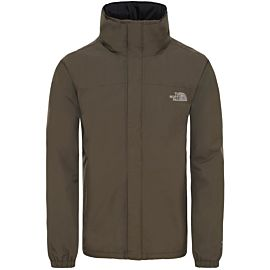 The North Face Resolve Insulated outdoor jack heren taupe green
