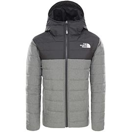 The North Face Reversible Perrito outdoor jack junior medium grey heather