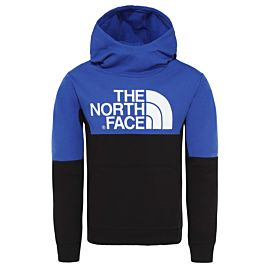 The North Face South Peak hoodie junior tnf black tnf blue