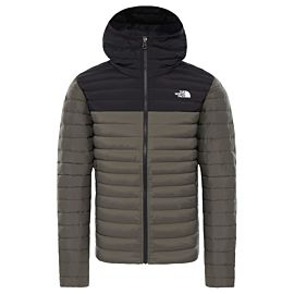 The North Face Stretch Down outdoor jack heren new taupe green tnf black
