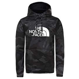 The North Face Surgent Halfdome hoodie heren tnf black waxed camouflage print