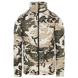 The North Face Thermoball jas heren peyote beige woodchip camo print