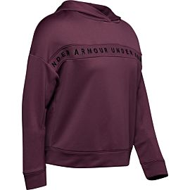 Under Armour Tech Terry hoodie dames purple