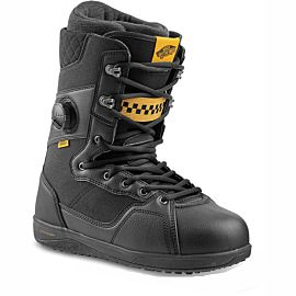 Vans Implant Pro snowboardschoenen heren black yellow