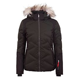 Icepeak Elsah winterjas dames dark green