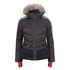 Icepeak Electra winterjas dames dark green